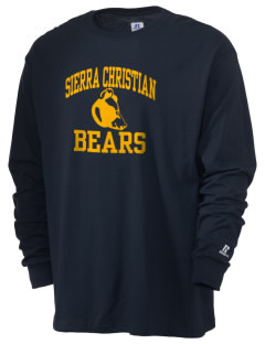 Sierra Christian Academy Bears  Russell Men's Long Sleeve T-Shirt