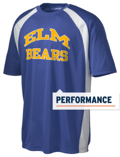 Elm Elementary School Bears Men's Dry Zone Colorblock T-Shirt