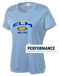 Elm Elementary School Bears Women's Competitor Performance T-Shirt