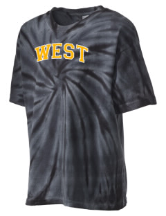 West Elementary School Tigers Kid's Tie-Dye T-Shirt