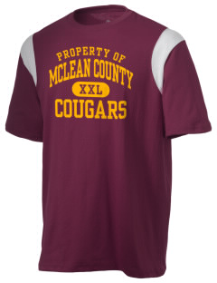 McLean County High School Cougars Holloway Men's Rush T-Shirt