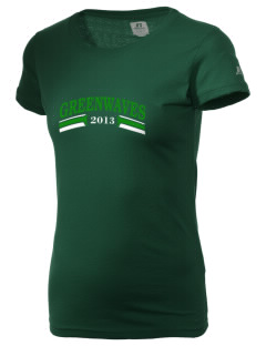 Meade County High School Greenwaves  Russell Women's Campus T-Shirt