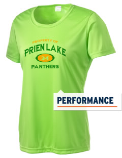 Prien Lake Elementary School Panthers Women's Competitor Performance T-Shirt