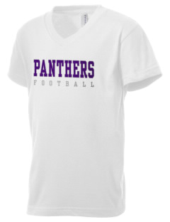 Provencal Elementary School Panthers Kid's V-Neck Jersey T-Shirt