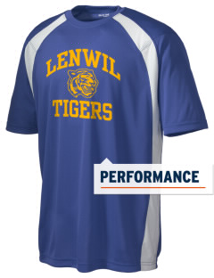 Lenwil Elementary School Tigers Men's Dry Zone Colorblock T-Shirt