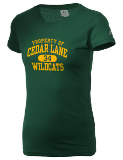 Cedar Lane Elementary School Wildcats  Russell Women's Campus T-Shirt