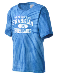Franklin Middle School Hurricanes Kid's Tie-Dye T-Shirt