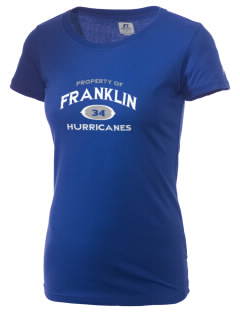 Franklin Middle School Hurricanes  Russell Women's Campus T-Shirt