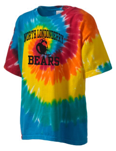 North Londonderry Elementary School Bears Kid's Tie-Dye T-Shirt