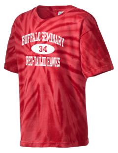 Buffalo Seminary Red-Tailed Hawks Kid's Tie-Dye T-Shirt