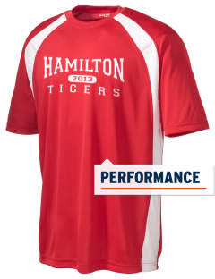 Hamilton Primary School Tigers Men's Dry Zone Colorblock T-Shirt