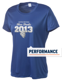 Westfield High School Blue Devils Women's Competitor Performance T-Shirt