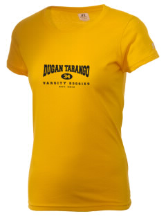 Dugan Tarango Middle School Doggies  Russell Women's Campus T-Shirt