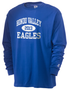 Hondo Valley Public School Eagles  Russell Men's Long Sleeve T-Shirt