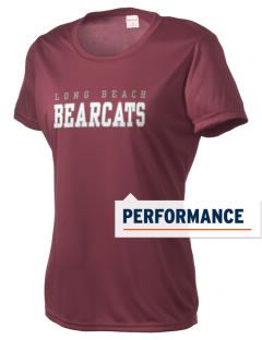 Long Beach High School Bearcats Women's Competitor Performance T-Shirt