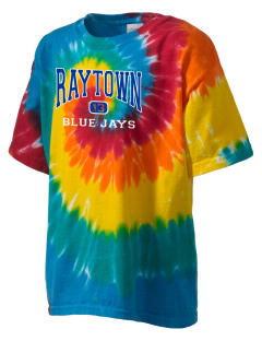 Raytown Middle School Blue Jays Kid's Tie-Dye T-Shirt