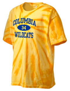 Columbia Primary School Wildcats Kid's Tie-Dye T-Shirt