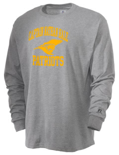 Captain Nathan Hale Middle School Patriots  Russell Men's Long Sleeve T-Shirt