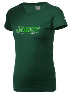 Jarrett Middle School Trojans  Russell Women's Campus T-Shirt