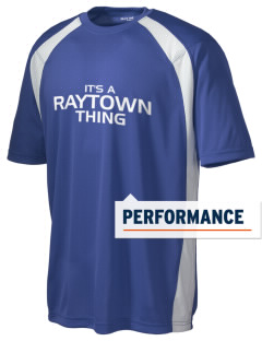 Raytown High School Blue Jays Men's Dry Zone Colorblock T-Shirt