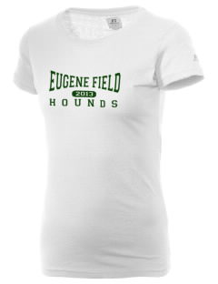 Eugene Field Elementary School Hounds  Russell Women's Campus T-Shirt