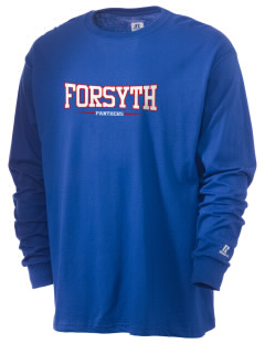 Forsyth Middle School Panthers  Russell Men's Long Sleeve T-Shirt