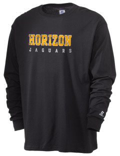 Horizon Middle School Jaguars  Russell Men's Long Sleeve T-Shirt