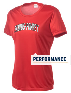 Fabius-Pompey MiddleHigh School Falcons Women's Competitor Performance T-Shirt