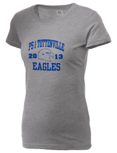 PS 1 Tottenville Eagles  Russell Women's Campus T-Shirt