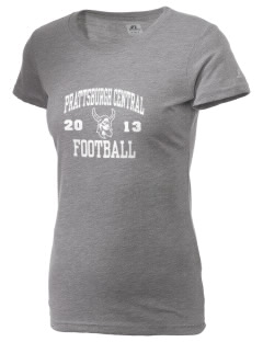 Prattsburgh Central School Vikings  Russell Women's Campus T-Shirt