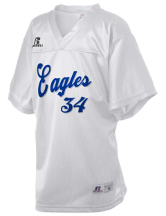 Edgewood Elementary School Eagles Russell Kid's Replica Football Jersey