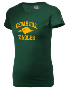 Cedar Hill Elementary School Eagles  Russell Women's Campus T-Shirt