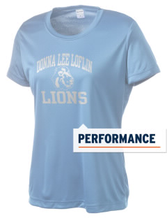 Donna Lee Loflin Elementary School Lions Women's Competitor Performance T-Shirt