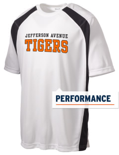 Jefferson Avenue Elementary School Tigers Men's Dry Zone Colorblock T-Shirt