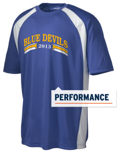 Independence High School Blue Devils Men's Dry Zone Colorblock T-Shirt