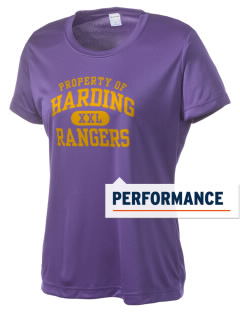 Harding Middle School Hawks Women's Competitor Performance T-Shirt