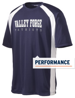 Valley Forge High School Patriots Men's Dry Zone Colorblock T-Shirt