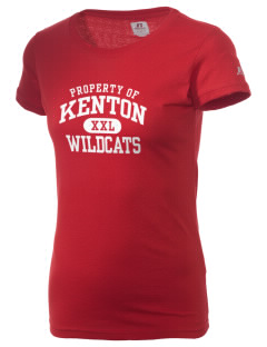 Kenton High School Wildcats  Russell Women's Campus T-Shirt