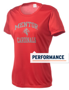 Mentor High School Cardinals Women's Competitor Performance T-Shirt
