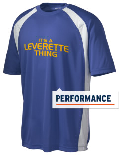 Leverette Junior High School Lions Men's Dry Zone Colorblock T-Shirt