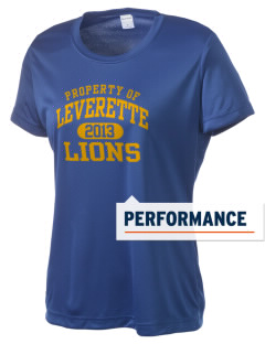 Leverette Junior High School Lions Women's Competitor Performance T-Shirt