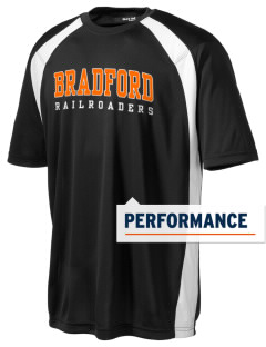Bradford High School Railroaders Men's Dry Zone Colorblock T-Shirt