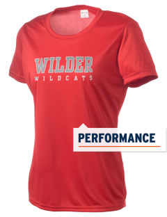Wilder Junior High School Wildcats Women's Competitor Performance T-Shirt