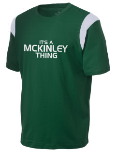 McKinley Elementary School Bulldogs Holloway Men's Rush T-Shirt