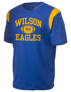Wilson Elementary School Eagles Holloway Men's Rush T-Shirt