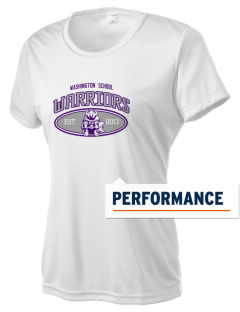 Washington School Warriors Women's Competitor Performance T-Shirt
