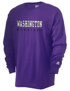 Washington School Warriors  Russell Men's Long Sleeve T-Shirt
