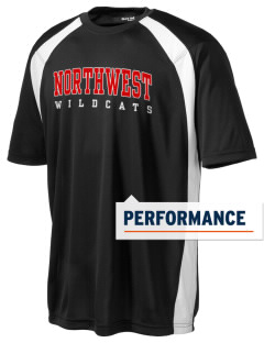 Northwest 6th Grade Center Wildcats Men's Dry Zone Colorblock T-Shirt