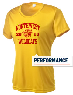 Northwest 6th Grade Center Wildcats Women's Competitor Performance T-Shirt