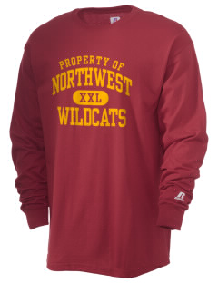 Northwest 6th Grade Center Wildcats  Russell Men's Long Sleeve T-Shirt